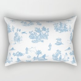 Toile du Force Rectangular Pillow