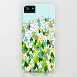Blooming Hills iPhone Case