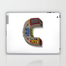 MACHINE LETTERS - C Laptop & iPad Skin