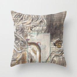 The Dream Girl Throw Pillow