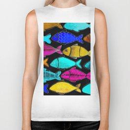 TROPICAL FISH Biker Tank