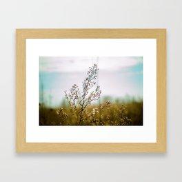 Upon return Framed Art Print