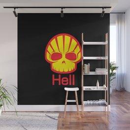 Hell Shell Skul Wall Mural