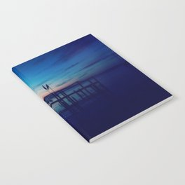 Sunset on the Water in Virginia Notebook