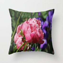 On the Banks of the River Throw Pillow