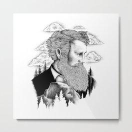 JOHN MUIR Metal Print