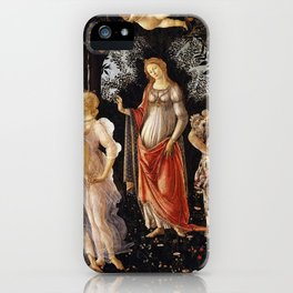 Primavera, Botticelli iPhone Case