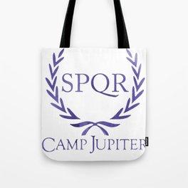 spqr camp jupiter original purple Tote Bag