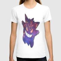 gengar T-shirts featuring Galaxy Gengar by Visual Declaration