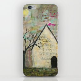 Little house of words iPhone Skin