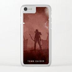 Tomb Raider (II) Clear iPhone Case
