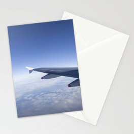 Heavenly Blue Skies Flying Stationery Cards