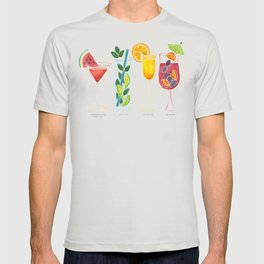 Summer Cocktail Trio T-shirt