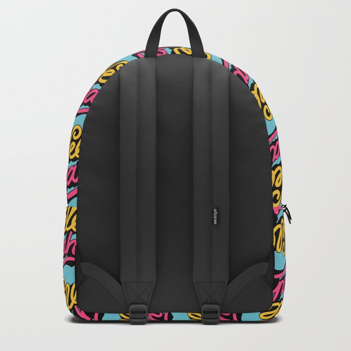hell yeah 002 x typography Backpack