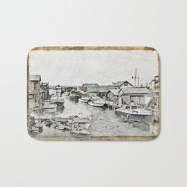 Fish Town Bath Mat