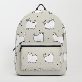 Black and White Cats Backpack