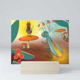 Bug Concert Mini Art Print