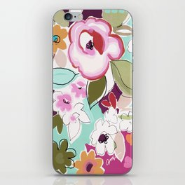 Dufy floral  iPhone Skin