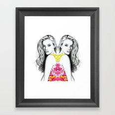 French Summer 3 + Framed Art Print