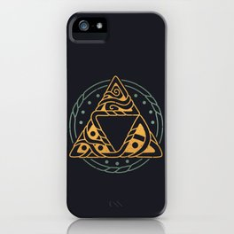 The Golden Power iPhone Case