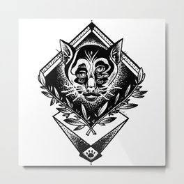 The order of the cats Metal Print