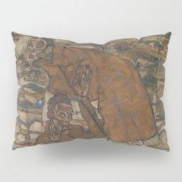 Egon Schiele - Levitation (The Blind II) Pillow Sham