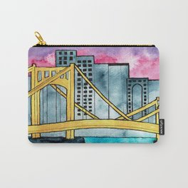 Pittsburgh Bridge Carry-All Pouch
