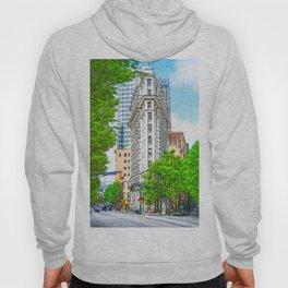 Historic Atlanta - The Flatiron Building Hoody