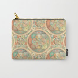 Complex geometric pattern Carry-All Pouch