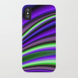 Abstract Fractal Colorways 01PL iPhone Case
