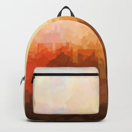 Chicago Illinois Skyline - In the Clouds Backpack