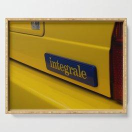 Delta Integrale Italian sport hatchback  Serving Tray