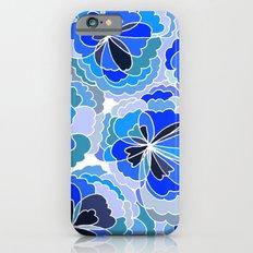 Floral Blue iPhone 6s Slim Case
