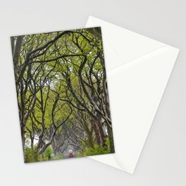 A Drive through the Dark Hedges Stationery Cards