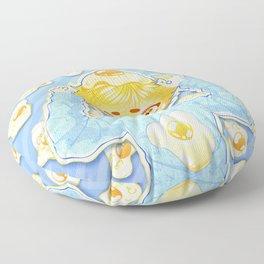 HUNGRY BOY - EGGS Floor Pillow
