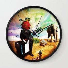 Racists Wall Clock