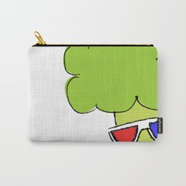 Lady Broccoli in 3D Series pt. 3 Carry-All Pouch