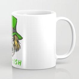 Arrr-ish St Patrick's Day Irish Pirate Leprechaun Skull Gift Coffee Mug