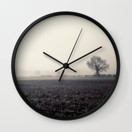 Ghosts in the Landscape Wall Clock