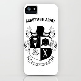 Armitage Army iPhone Case