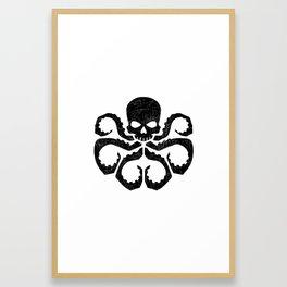 hail Hydra Framed Art Print