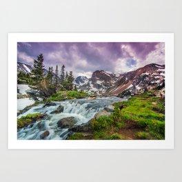 Lake Isabelle Art Print