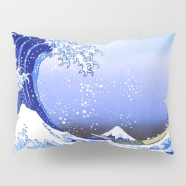 Surf's Up! The Great Wave Pillow Sham