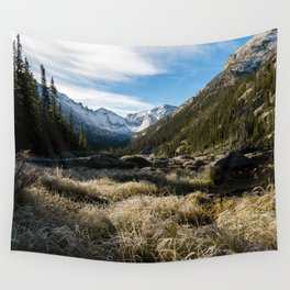 Mills Lake Morning Wall Tapestry