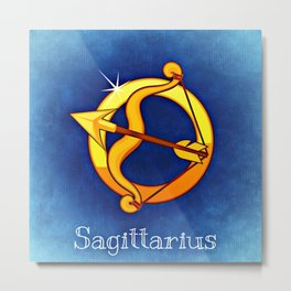 Zodiac_Sign_The_Centaur Metal Print