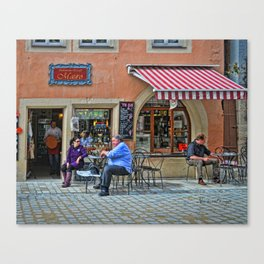 Rothenburg 18 Canvas Print