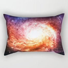 Spiral galaxy Rectangular Pillow