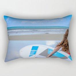 Walkerville Paddleboard Surf Beach Rectangular Pillow