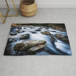 Take Me to the River - Rushing Rapids in the Great Smoky Mountains Rug