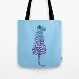 Tiger + Stars Tote Bag